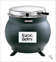 KS Kettle Server 7-Qt (Black Finish)