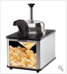 Server Butter Dispenser w/Pump & Spout Warmer