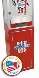 Cineplex Popcorn Stand Only (Red)