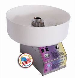 Cotton Candy Machine Spin Magic 5 w/Plastic Bowl