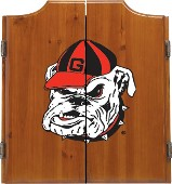 Dart Board Cabinet - College Theme (#7525)