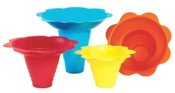 Flower Snow Cone Drip Trays - 4oz