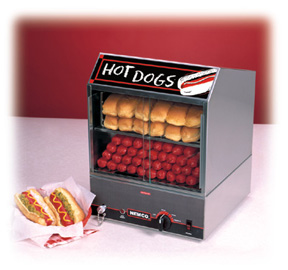 Hot Dog Steamer No Low Water Level Indicator